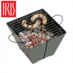 Barbacoa plegable de Iris