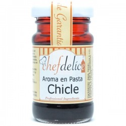Chicle, aroma en pasta emulsion ChefDelice
