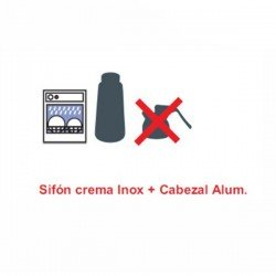 Sifon cocina profesional inox 68404 y 68405
