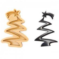 Molde arbol de Navidad SugarFlex Gold de Silikomart