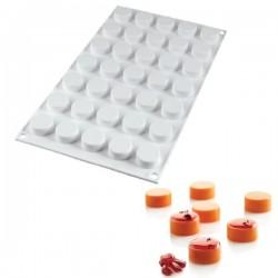 Molde de silicona MICRO ROUND5 de Silikomart