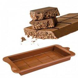 Molde de silicona para turron de chocolate de...