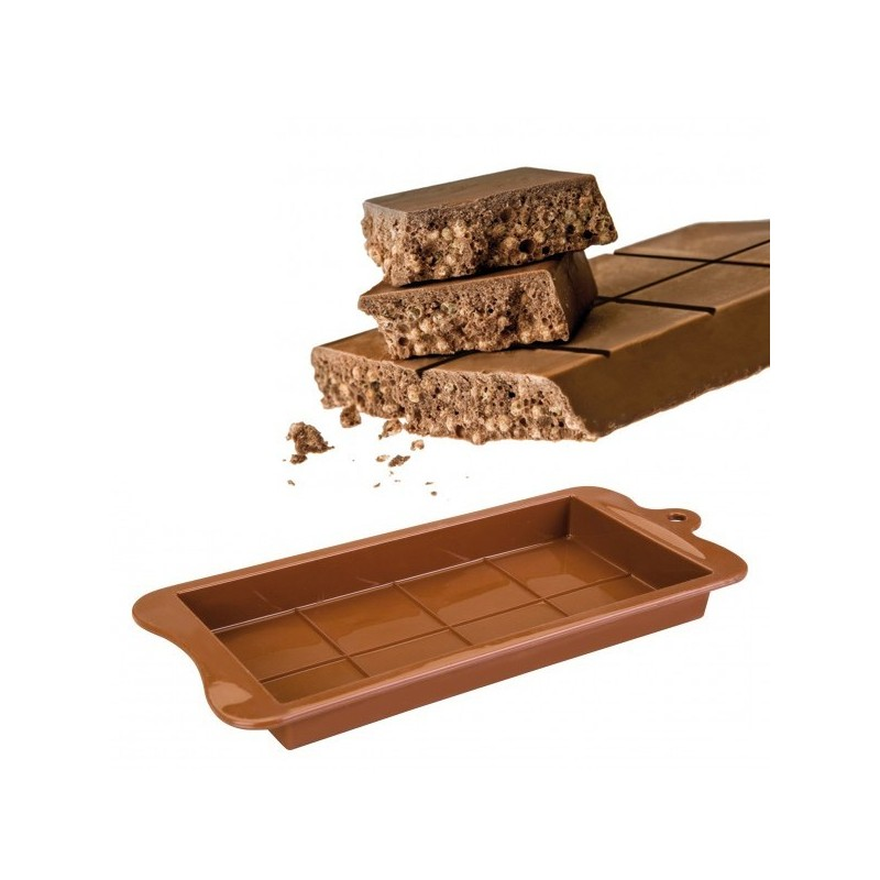 Molde de silicona para turron de chocolate de Ibili