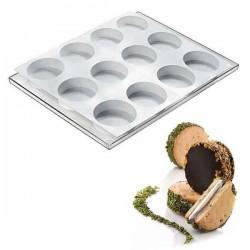 Set de moldes cookieflex BISC02 discotto de Silikomart