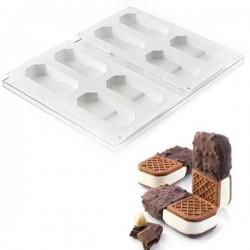 Set de moldes cookieflex BISC05 crock de Silikomart