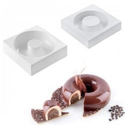 Set de moldes savarin Kit Lady Queen de Silikomart