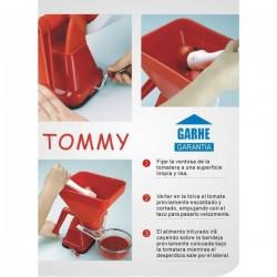 Tomatera manual de Garhe