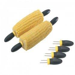 Juego de 4 soportes para comer mazorcas de maíz de Westmark