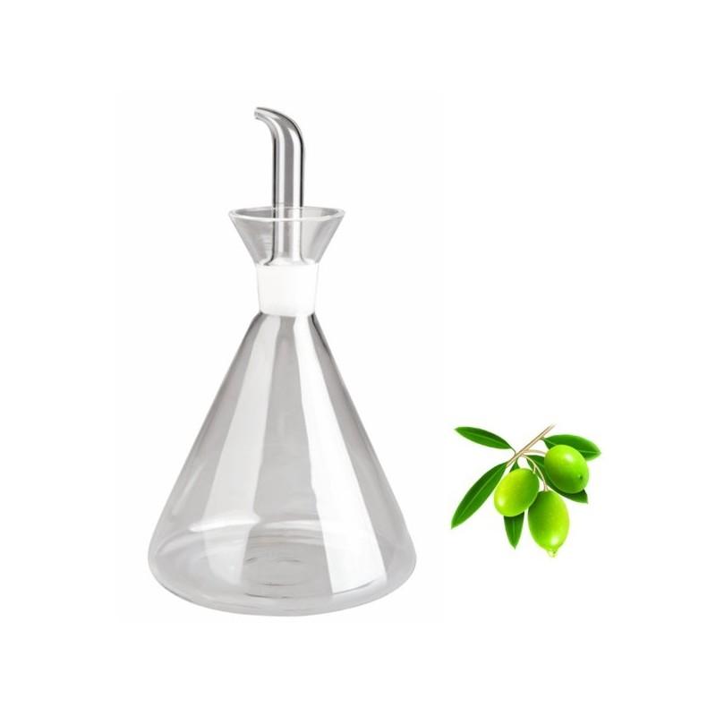 Aceitera de cristal con probeta de ibili