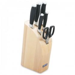 Taco de 5 cuchillos y tijera de la serie Kyoto de Arcos