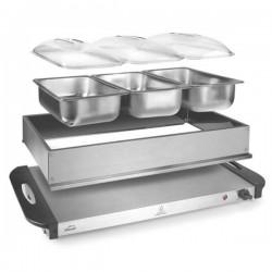 Calentador Buffet + 3 cubetas Gastronorm 1/3 de Lacor 69445
