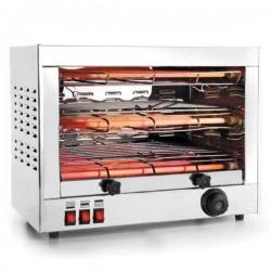 Tostador doble con grill horizontal profesional de Lacor