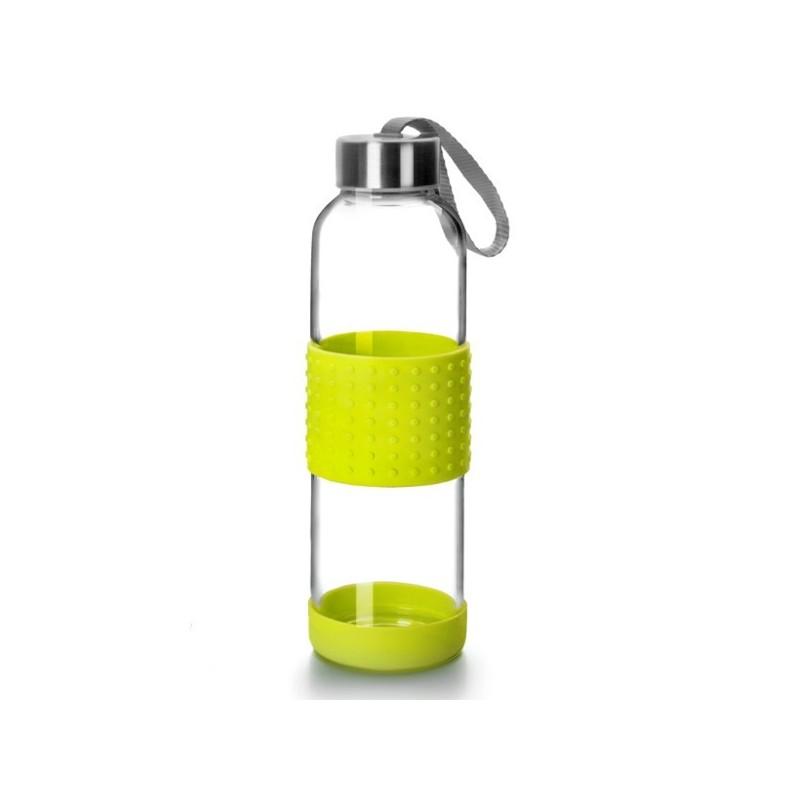 Botella de vidrio y silicona para transportar de Ibili