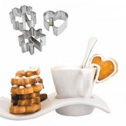 Cortapastas galletas para tazas de café de Ibili