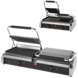 Grill doble profesional de contacto Caterchef