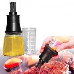 Pincel de silicona con botella de Ibili