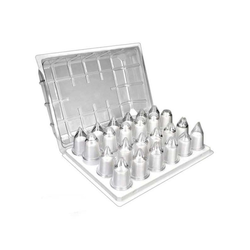 Set 24 boquillas o cornetes de policarbonato de Ibili