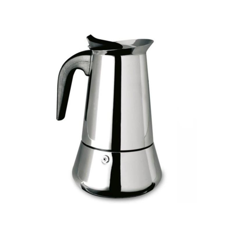 Cafetera de acero inoxidable para induccion de Ilsa