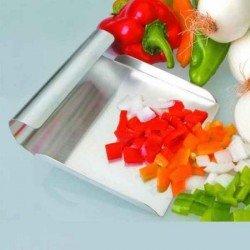 Pala recoge verduras y alimentos de acero inox
