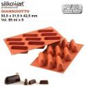 Molde Gianduiotto SiliconFlex de Silikomart