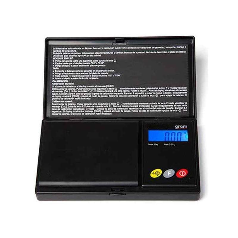 Balanza de precisión 0.01 gr. de bolsillo