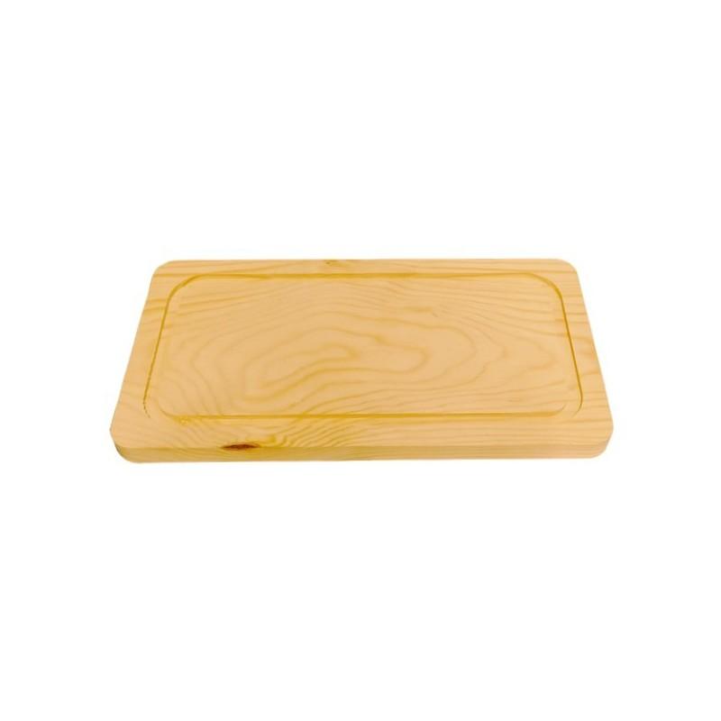 Tabla madera para churrasco de 40 x 22 cm
