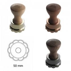 Molde para raviolis circular en flor de 50 mm de Marcato