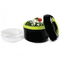 Fiambrera térmica Black Green de Ibili