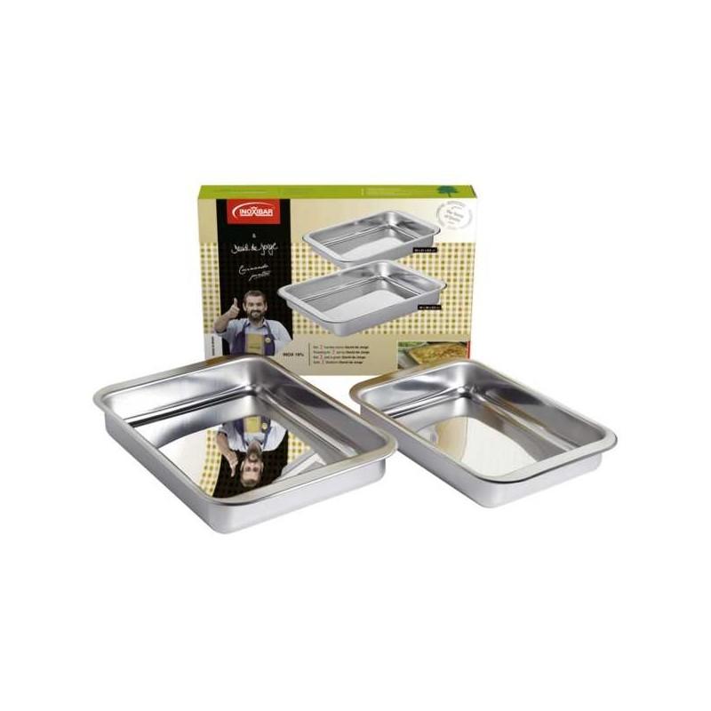 Set de fuente de horno de acero inox de Inoxibar