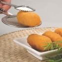 Pinzas para escurrir frituras inox de Ibili