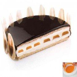 Molde para rellenos de tartas Insert Decor de Silikomart