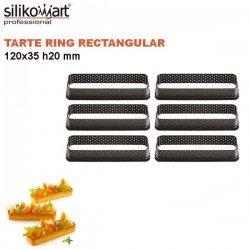 Tarte Ring Rectangular 120x35 mm Silikomart Professional