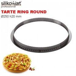 Tarte Ring Round Ø250 mm Silikomart Professional