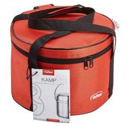 Batería de cocina transportable Kamp de Inoxibar