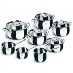 Batería de cocina Belly de Lacor 8 piezas