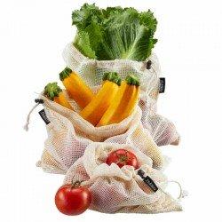 Bolsas medianas reutilizables para frutas y...