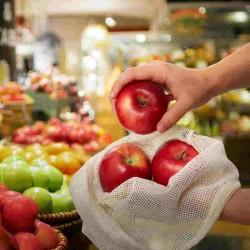Red para transportar frutas y verduras Aware 3 piezas S/M/L de Gefu