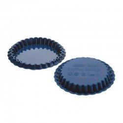 Juego de mini moldes rizados de silicona