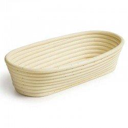 Banneton molde para pan ovalado