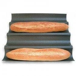 Placa antiadherente para baguettes de Gobel