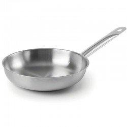 Sartén de acero inoxidable Chef-inox de Lacor