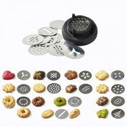 Kit de moldes para galletas de Le Tube. De Buyer