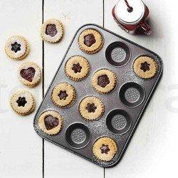 Bandeja perforada con 12 huecos de Kitchen Craft