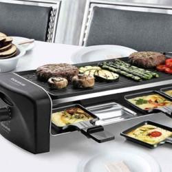Raclette y plancha asadora con grill Arizona de...