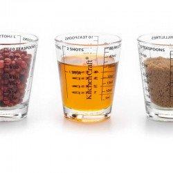 Vaso medidor de vidrio de Kitchen Craft