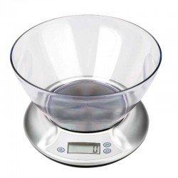 Bascula digital para cocina con bol trasparente...