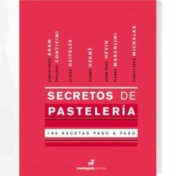 Secretos de Pastelería, 180 elaboraciones paso...