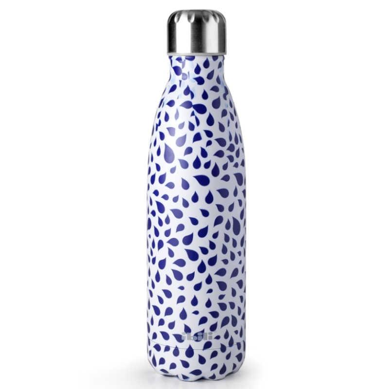 Botella termo Drop doble pared de Ibili
