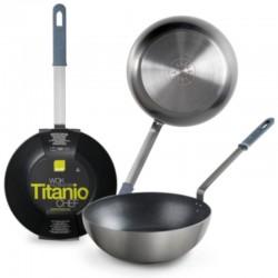 Wok titanio de Ibili