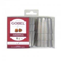 Pack de 6 flaneros acanalados «Bordelais» de Gobel